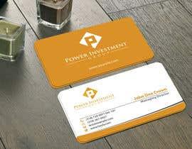 nº 18 pour Design some Business Cards for investor company par mamun313
