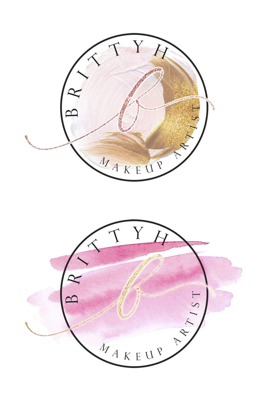 Конкурсная заявка №14 для I admire simplistic and classic/classy logos! But will consider all entries. something beautiful but simple enough to be recognised.  Brittyh MUA MUA meaning Makeup Artist, in your designs I don't mind if it says 'MUA' or 'Makeup Artist'