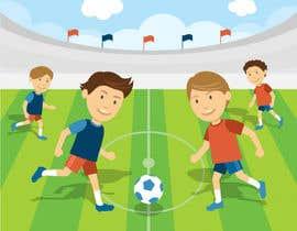 #12 for Soccer players ilustrations af Akheruzzaman2222