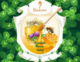 #68 for Create Packaging label  for Honey by winesajal