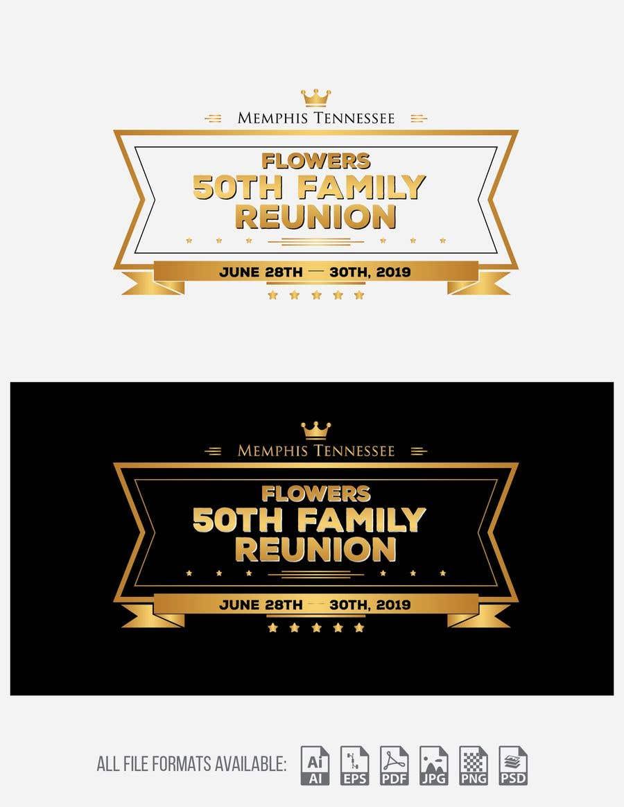 fcf4c3b42 Entry #33 by zahoorkhan18 for Logo Contest - 50th Reunion | Freelancer