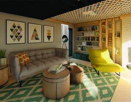 #33 για Interior room design - 3D από oanabutoi