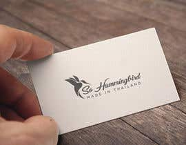 #176 cho Logo Design Hummingbird bởi herobdx