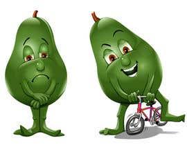 """#130 for Design """"Mr Avocado"""" for Children's Book af caloylvr"""