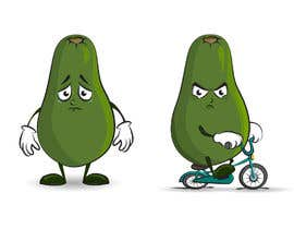 """#139 for Design """"Mr Avocado"""" for Children's Book af Tszocske"""