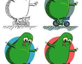 "#120 for Design ""Mr Avocado"" for Children's Book af CiroDavid"