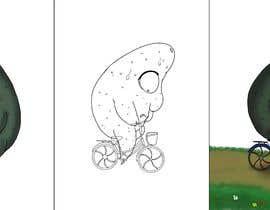 """#152 for Design """"Mr Avocado"""" for Children's Book af IgnacioSlothboss"""