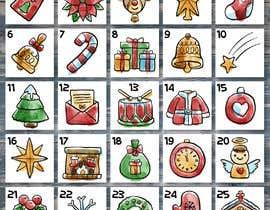 #27 para Create a new range of xmas advent calendar por sudhy8