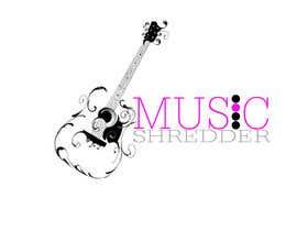 #14 untuk Design a Logo for Music Shredder oleh gigaservice