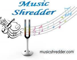 #10 untuk Design a Logo for Music Shredder oleh constantinpaul