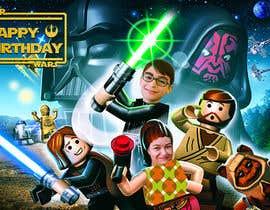 #84 cho Add my nephew to a Star Wars poster or scene bởi sazzi