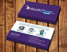 nº 54 pour Design some Business Cards for UnlockRiver par dinesh0805
