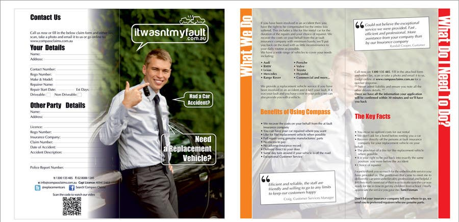 Конкурсная заявка №30 для Flyer Design for itwasnymyfault.com.au