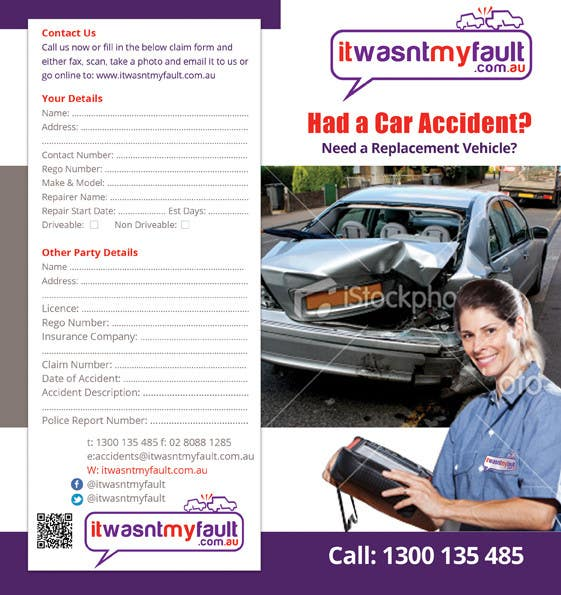 Конкурсная заявка №19 для Flyer Design for itwasnymyfault.com.au