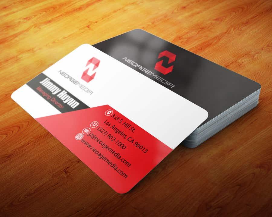 Contest Entry #86 for Hi-tech Business Card design.