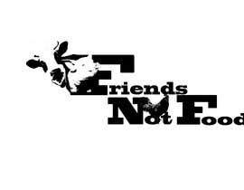 """Nro 2 kilpailuun Vegan tattoo - """"Friends Not Food"""" käyttäjältä H4llon"""