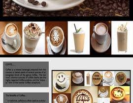 #20 for Design a Website Mockup for Coffe Company Profiles af dessydrottningu