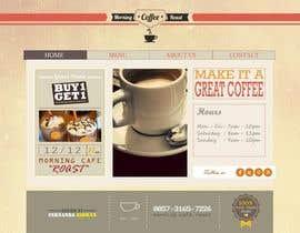 #22 for Design a Website Mockup for Coffe Company Profiles af fernandaridwan