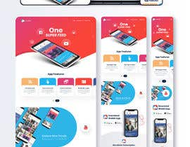 #31 for Landing Page/Website for a New App by zaxsol