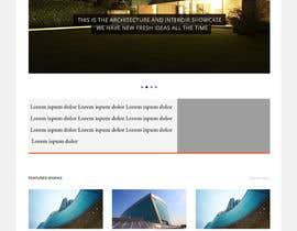 mohammedomarasy tarafından Design a Website Mockup for Architect için no 41