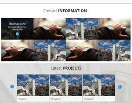designcreativ tarafından Design a Website Mockup for Architect için no 8
