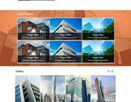 kethketh tarafından Design a Website Mockup for Architect için no 47