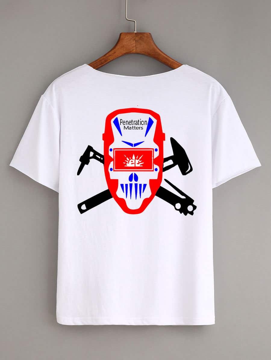 Entry 14 By Ttamanna2912 For Welder T Shirt Design Freelancer