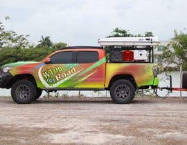 #6 for Car Vinyls Graphic Design for Expedition truck Adventure Trip by aariankashif