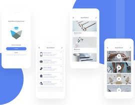 nº 25 pour iPhone App Design Mockup par bagasmr