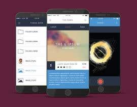 nº 54 pour iPhone App Design Mockup par Tjdezine