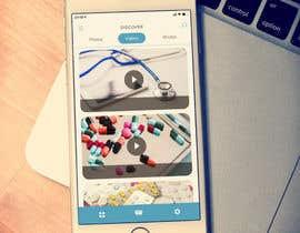 nº 42 pour iPhone App Design Mockup par nashadms18