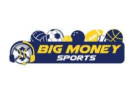 nº 111 pour Big Money Sports logo par ldburgos