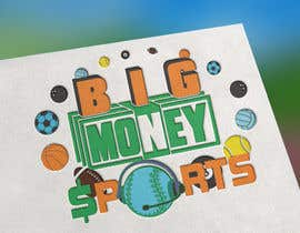 nº 107 pour Big Money Sports logo par joepic