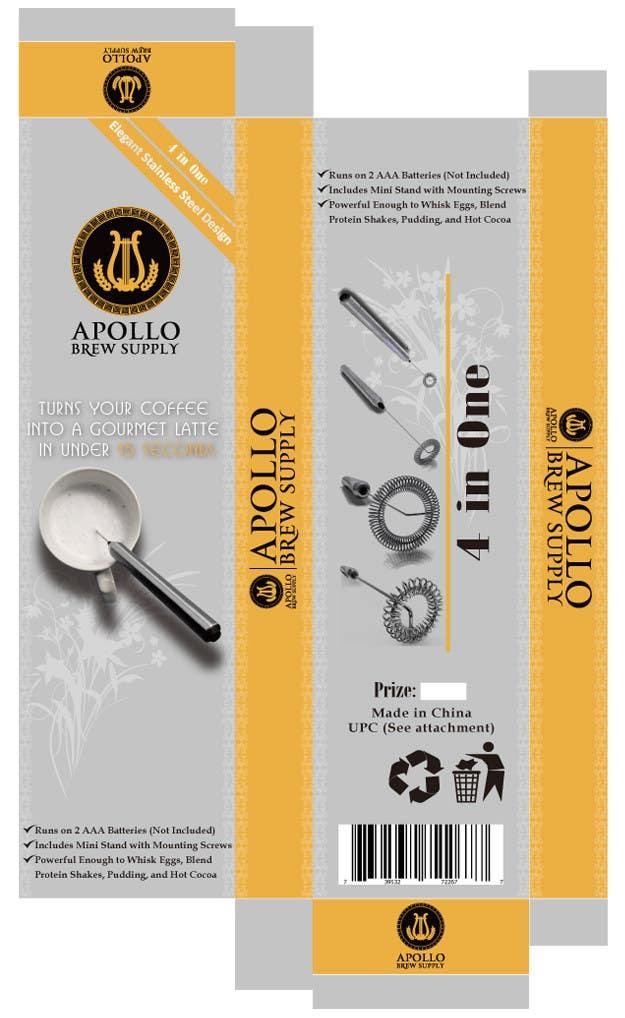 Inscrição nº                                         4                                      do Concurso para                                         Create Print and Packaging Designs for Milk Frother Tool