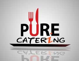 nº 5 pour high end food catering company, called ( Puree ) . -something simple elegant and modern .  - one color only to use ( black, or dark blue, or maroon ).    -your creative ideas are needed i want to see diferent options. par gazisakib18