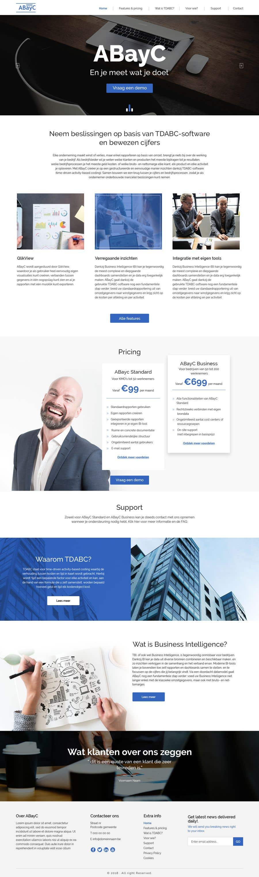 Homepage Design Programm | Entry 10 By Webmastersud For Design Homepage For Website Software
