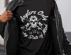 #8 para Design a skull/calavera fishing t-shirt por anchevan