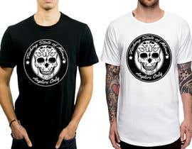 #6 para Design a skull/calavera fishing t-shirt por feramahateasril