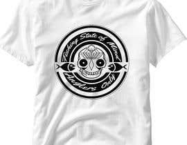 #36 para Design a skull/calavera fishing t-shirt por elliondesignidea