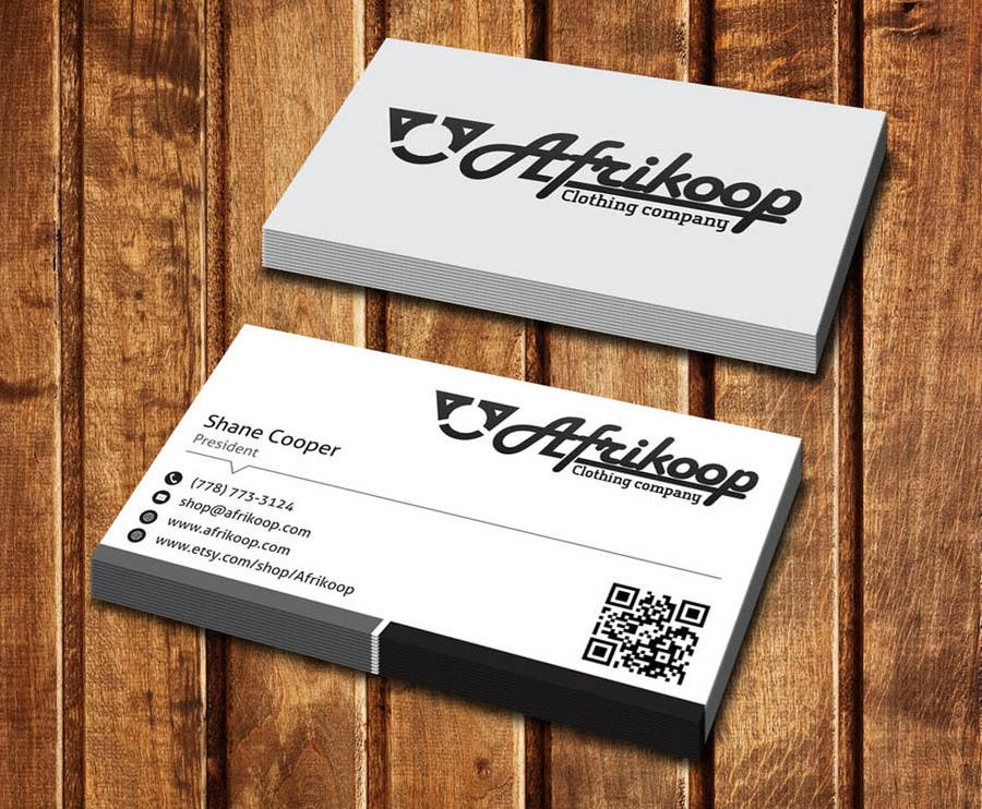 Entry #10 by dinesh0805 for Design some Business Cards for clothing ...