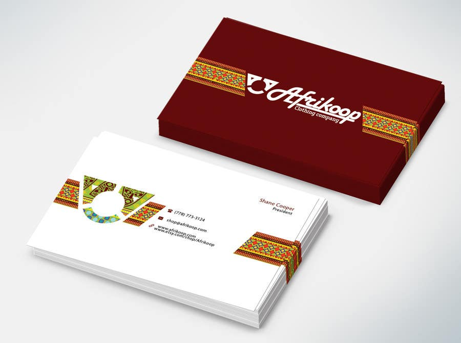 Entry #3 by etip1402 for Design some Business Cards for clothing ...