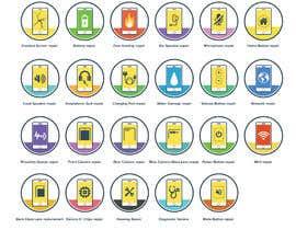 kyledeimmortal tarafından Design some Icons for mobile repair website için no 25