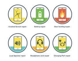 kyledeimmortal tarafından Design some Icons for mobile repair website için no 26