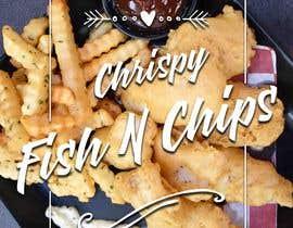 #7 para Design a fish and chip banner de zwarriorx69