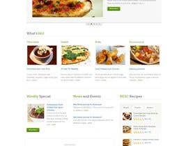 nº 16 pour Homemade FoodS Website par digitalrigid