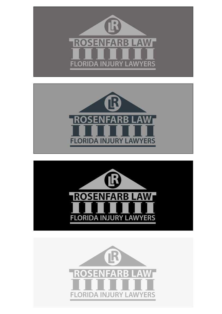 Kilpailutyö #103 kilpailussa Logo Design for Rosenfarb Law