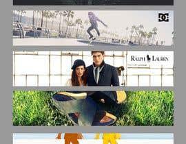 #38 untuk Brand banner pictures for e-commerce site oleh leandeganos