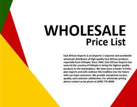 #1 untuk Product Catalog for Wholesale Distribution Company oleh zhshakil