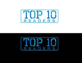 #108 untuk design a logo for TOP 10 READERS oleh JohnDigiTech