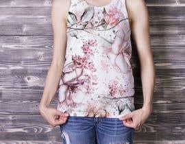 #82 для Design printed floral vest от aly412